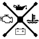 Sticker croix
